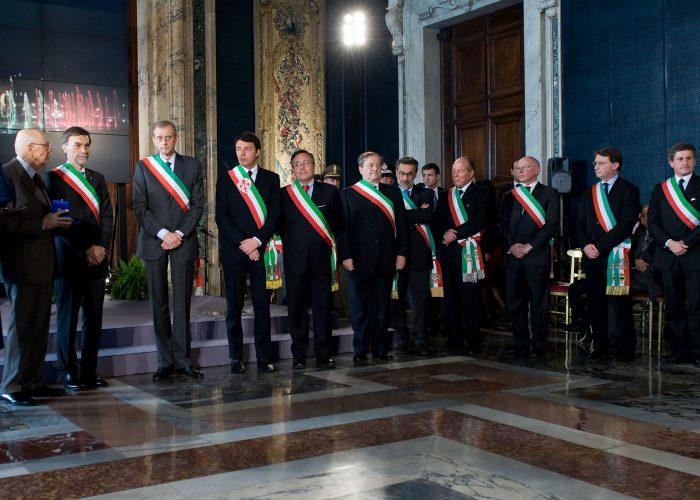 20120317-presidente-Anci-al-Quirinale-con-Napolitano-e-sindaci-150-per-unità-d'Italia